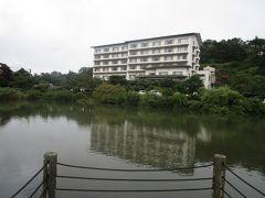 東北みちのくドライブ旅・P4.岳温泉「碧山亭」:鏡ケ池