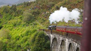 スコットランドとアイルランドの自然を巡るドライブ旅(③ジャコバイト号~グレンコー渓谷)
