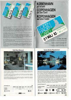 1993年 パリところどころ 5/6 :コペンハーゲン前編 (まずは定番、あるいは像群?)