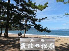 秋の北陸ロマン(3)気比の松原~日本海に逢いたくなる♪