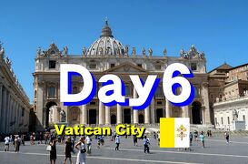 Bon Voyage! イタリア満喫8日間の旅 2019夏 ~6日目Part1~「ヴァチカン」