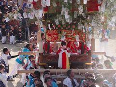 久しぶりに小豆島へ、瀬戸芸と祭りを見に 2日目