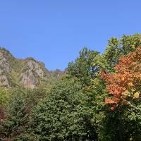 一足早い紅葉を見に北海道へ(その1:層雲峡)
