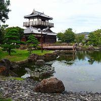 弟夫婦との旅(07) 池田城跡公園の見学。