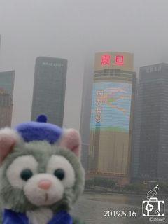 上海ディズニー 初の春イベントに行ってみた ② ~夜景を楽しむなら天気が良いにこしたことはない~
