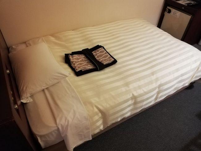 ビジネスで利用した。湯田温泉 ホテルニュータナカ 宿泊記です。<br />朝食付で7,552円でした。