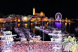 魅惑のシチリア×プーリア♪ Vol.801 ☆トラーニ:マーレリゾートの屋上の素敵なパーティーとコンサート♪