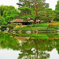 昭和記念公園-6 日本庭園 伝統の造園技術の妙 ☆回遊式園路を廻り-潤いとやすらぎ