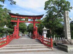 秋の北陸ロマン(6)ぐるっと敦賀周遊バスに乗って日本三大鳥居の氣比神宮へ