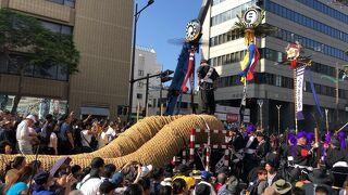 27万人が参加した那覇大綱挽で前代未聞のハプニング