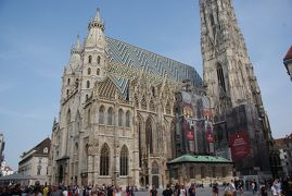 スイス アルプスの絶景とパリ、ウィーン観光18日間⑥-2 ウィーン観光とグルメ