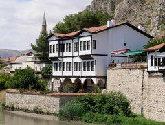 2019.8トルコの知人を訪ねる23-Hazeranlar Mansion博物館,Yesilirmak川沿いを歩く