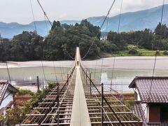 大人の修学旅行 大井川鐡道の旅3日目 塩郷の吊り橋と世界一長い木造歩道橋である蓬莱橋