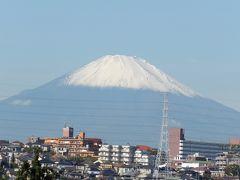 初冠雪の富士山-2019年秋