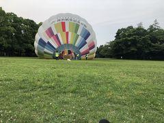 早起きしてふわり熱気球!