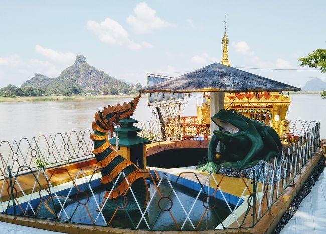 ラオス北部の旅で手応えを得た私は、一旦バンコクに戻ったのち、ミャンマーへ向かった。<br />入出国をヤンゴンからというパターンにも飽きたので、入国はタイから陸路で国境を越えることにした。<br />ミャワディ、パアン、ピイを訪れるのは初めてである。<br /><br />サブタイトルは、乃木坂46の2014年後半、生田センター曲へのオマージュである。<br />(斉藤飛鳥>ミャンマーつながりも。)<br /><br />2019年3月に初めてミャンマーを旅した。ヤンゴンのみ五泊した。ゴールデンロック、バゴーへも足を伸ばした。<br /><br />その後立て続けにミャンマーに入国した。三回目はメーホンソーンからシャン族が管理する「禁断の国境」を越えてシャン族の村を訪れた。<br />(詳しくは、私のメーホンソーン旅行記を参照されたし。)<br /><br />四回目のタチレイは、定番のタイからの日帰り入出国コースだが、私なりに爪痕を残せたと思っている。<br />(詳しくは、私のチェンラーイ旅行記を参照されたし。カヤン族(「首長族」)関係の記事あり。)<br /><br />今回の入国が五回目であるが、私のパスポートには三回目の入出国の記録はない。<br />いつミャンマーに入り、いつ出国したのか。もはや訳が分からなくなりつつある。<br />こんなにグダグダな日本人は、私以外にはあまりいないであろう。<br /><br />良い子の皆さんと4トラベラーの皆さんは、決して真似をしないでいただきたい。<br /><br />【今回の旅程】<br />バンコク<br /> ↓<br />メーソート<br /> ↓ ☆ミャンマー入国☆<br />ミャワディ 1泊<br /> ↓<br />パアン 4泊 ~この旅行記~<br /> ↓<br />ヤンゴン 1泊<br /> ↓<br />ピイ 3泊<br /> ↓<br />ヤンゴン 1泊<br /> ↓<br />ロイコー 4泊<br /> ↓<br />ヤンゴン 1泊<br /> ↓ ☆ミャンマー出国☆<br />バンコク<br /><br />(2019.10.24暫定版)
