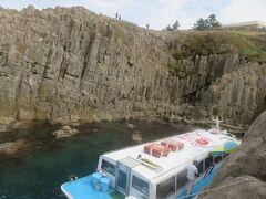 秋の北陸ロマン(10)観光遊覧船から眺める東尋坊