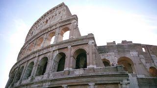 ローマ*フィレンツェ*ティボリ 4泊6日 5日目 コロッセオ地下と屋上ツアー