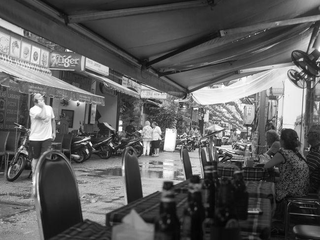 <br />初めてベトナムに行ったのは、1996年のゴールデンウィークでした。<br /><br />2週間の休暇を取って、サイゴンin ハノイout でベトナムを南から北に縦断しました。<br /><br /><br />このシリーズには、写真はありません。<br />ありますけど、フィルム時代で、写真のスキャンが面倒なのです。。。<br /><br /><br />訪れた都市順に、<br /><br />サイゴン編 3泊<br />ニャチャン編 2泊<br />ダナン編 2泊<br />フエ編 2泊<br />ハノイ編 2泊<br />です。<br /><br />縦断後、ハノイから飛び立ち、中国返還前の香港、澳門に立ち寄ったのですが、その思い出は以前に書きました。<br />その話はこちらです。<br />https://4travel.jp/travelogue/11275413<br /><br /><br />本編は、サイゴン編です。<br /><br /><br />因みに、1996年の為替レートは、<br />1USドル=100円=10000ベトナムドン<br />と、奇跡のように計算しやすいレートでした。<br /><br />当時のベトナムの最高額紙幣は、20000ドン(200円)のコットン紙幣でした。<br /><br />100ドル両替すると、20000ドン札が50枚出てきて、財布がパンパンになりました。<br />しかも、食堂とか買い物で、20000ドンを差し出すと、お釣りないよぉ、の世界でした(=_=)<br /><br /><br />ーーーーーーーーーーーーーーーーー<br /><br />香港からサイゴンへ、キャセイパシフィック航空で<br /><br /><br />往路の香港は、トランジットでした。<br /><br /><br />いつも行き当たりばったり旅で、<br />サイゴンから、ハノイまでどう行くかって、適当にしか考えていませんでした。<br />ベトナムでも縦断だと、誰が考えても同じルートです。<br /><br />当時は、情報って少なかったですし、<br />細かいことを計画を立てても、うまく行かないって、そんなのは無意味だって、それまでの経験で知っていました。<br /><br />旅のお供は、<br />地球の歩き方<br />と<br />奮発して買った、英語のロンリープラネット でした。<br /><br /><br />2週間休暇の配分は、<br />11日 ベトナム縦断<br />3日 香港<br /><br />ベトナム縦断でなにかトラブルがあって、ハノイ到着が遅れても、<br />香港にたどり着けば、なんとか日本に帰国できるだろう、って発想でした。<br /><br />香港は、中国返還前に見ておきたいって思いもありました。<br /><br /><br />ーーーーーーーーーーーーーーーーーーーーーー<br /><br />機内から初めて見た、サイゴンの夜景<br /><br /><br />サイゴン着は、夕方の多分7時か8時あたりで、もう真っ暗な時間でした。<br /><br />飛行機は、高度を下げて、タンソンニャット空港に。<br /><br />旋回して、眼下にサイゴンの街が広がりました。<br /><br />これが、光が少なくって、暗い街でした。<br /><br />蛍光灯ではなくって、40wぐらいの裸電球のような、ほの暗いオレンジ色の光に包まれていました。<br /><br /><br />ハッキリ言って、やべー、と思いました(=_=)<br /><br /><br />ーーーーーーーーーーーーーーーーーーーーーーーー<br /><br />初めてのタンソンニャット空港<br /><br /><br />そのターミナルは、今は、もうないです。<br />日本だと、地方都市空港のようなこじんまりとしたターミナルでした。<br /><br /><br />イミグレーションに歩いていると、日本人ビジネスマンに声をかけられました。<br /><br /> 君、1人? 大丈夫?<br /><br />かなり不安だったので、ラッキーでした。<br /><br />その頃のタンソンニャット空港のイミグレーションって、今でいうと、ベトナム/ラオス国境とか、ベトナム/カンボジア国境のようなこじんまりとしたものでした。<br /><br />ブースが確か1つだけで、もう激込みでした。<br /><br />イミグレーションに到達するまで、心配してくれた日本人ビジネスマンが、タクシーの乗り方とか、なんのかんの、色々とベトナムの旅について指南してくれました。<br