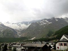 アルプス5大名峰と絶景列車の旅 9 またもや雨に見舞われたミシャベルアルプス(サースフェー)