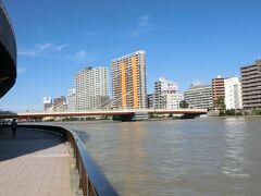 東京文学・歴史散歩29。中央区を歩くその2:浜町、隅田川、東日本橋柳橋界隈。