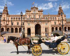 ☆憧れの初スペイン 2週間の旅 8日目 セビリアー2  スリに遭う ( ̄▼ ̄|||)