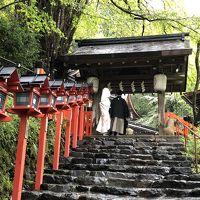 京都探索。。。第一弾(貴船神社、賀茂別雷神社周辺)