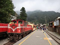台湾/高雄から阿里山へ(1) 阿里山森林鉄道で奮起湖を日帰り