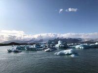 恒例の北欧 今年はアイスランドとフィンランドへ。4日目ヨークルスアゥルロゥン氷河の氷で黒霧島