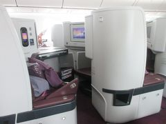 タイ国際航空 ビジネスクラス オークランドからバンコク