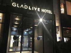 台風19号影響なしソウル 2019.10 part 2 GLAD LIVE HOTEL江南