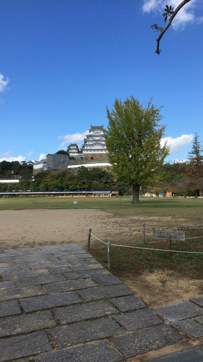 明石焼きと姫路城