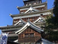 広島☆広島城、護国神社、縮景園