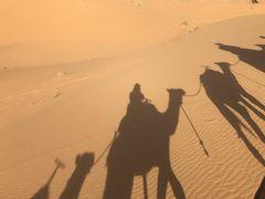 モロッコ3~5日目◆サハラ砂漠 砂漠でのテント泊とアイット・ベン・ハッドゥ