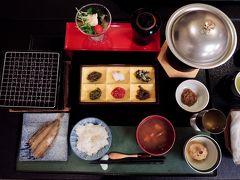 登録有形文化財へ泊まる 湯田中温泉よろづや 松籟荘へ泊まってみた(お食事編)