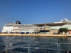 MSCシンフォニア:アドリア海クルーズ&イタリア旅行④ ~MSCシンフォニアクルーズ開始 乗船初日~