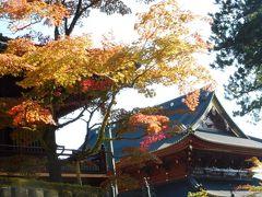 秋の日光をめぐる--紅葉には早かった--その1