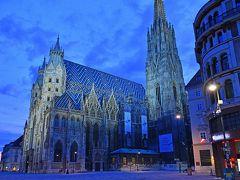 秋のウィーン・パリ旅行(1)1日目&2日目午前-出発・ウィーン到着、シュテファン大聖堂・王宮他ー