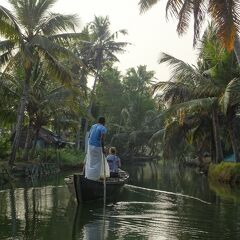 2019冬休み南インド:『癒し』、ここにあります。(1)フォートコーチン~ムンロー島