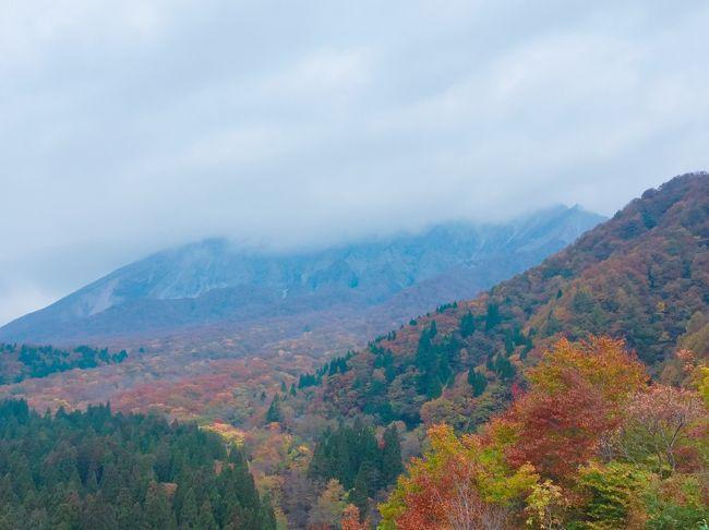 この旅行の3か月前に、パンフレットで観た、大山の鍵掛峠の素晴らしすぎる紅葉に心を奪われ、今年の紅葉狩りは鳥取だぁ~!!とすっかり乗り気に。 <br />大山エリアを訪れるのは、7年ぶりです。 前回の旅行記は↓<br />https://4travel.jp/travelogue/10711042 (2012年9月)<br /><br />前回訪れた時は、紅葉の時期ではなかったのですが、朝から大雨でした。 車の免許を持っていなかったこともあり、運行本数の少ない路線バスのスケジュールを事前にチェックして、行きたい場所を訪れた良い思い出です。 今回はレンタカーがあるので、自由自在に、行きたいところに行けるな…と思ってかなり楽しみにしていたのですが、この日もまた、お天気はすぐれず。 私ってば、大山との相性が悪いのかしら?<br />