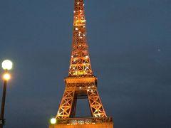 春のパリで1ヶ月 展望編 1/4夜のエッフェル塔