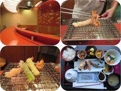 秋の北陸ロマン(19)ANAクラウンプラザのお食事。天ぷらカウンターでの夕食とルームサービス和朝食