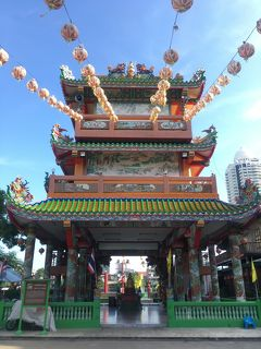 ぶら~りバンコク 関帝廟とArno'sのハンバーガー