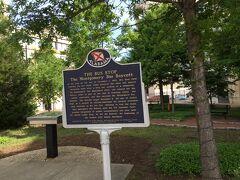 アラバマ州 モンゴメリー ー コート スクウェアはバスボイコット事件の場所