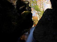 ◆紅葉の杉田川渓谷,滝巡り(三日月の滝&遠藤ヶ滝)