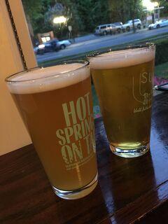 アーカンソー州 ホット スプリングス ー スペリオール バス ハウス ブリューワリーは美味しいビールがありおススメです。