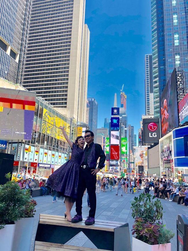 新婚旅行にニューヨークに行く事にしました!