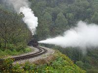 初めての四川省(2)嘉陽小火車(別名:芭石鉄路)に乗って楽しむ(2019年10月)