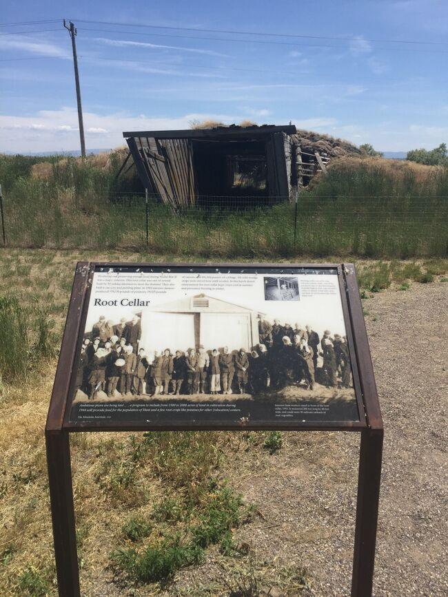 アイダホ州 ミニドカ ー 日本人強制収容所跡