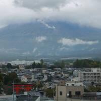 初めての富士山 台風21号接近中で見ることはできるのか? 二日目